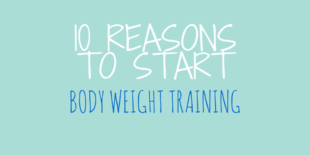 body weightraining