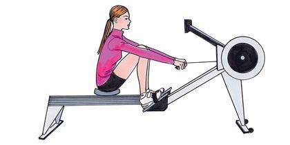rowing machine benefts