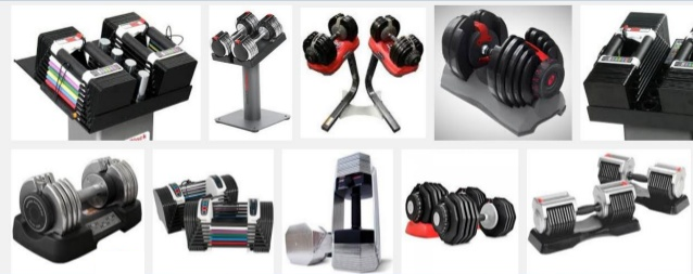 Heavy Adjustable Dumbbells