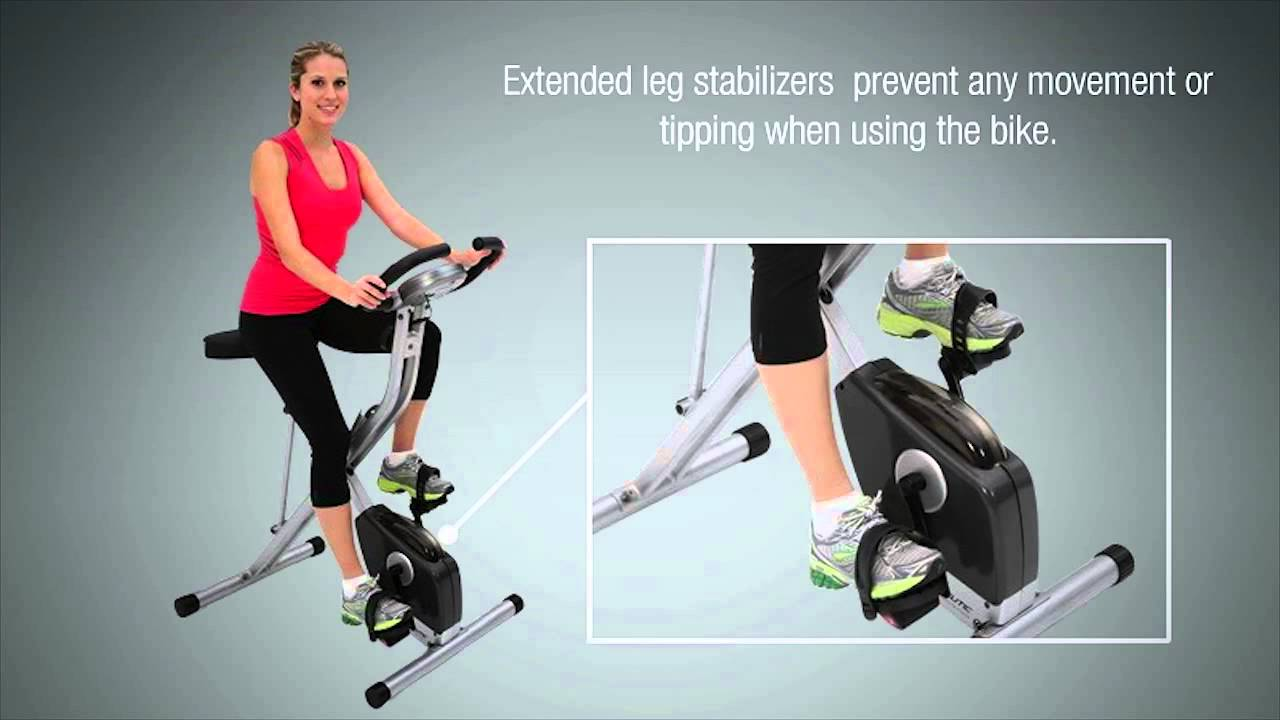 Exerpeutic Folding Magnetic Upright Exercise Bike Amazon with Pulse Benefits
