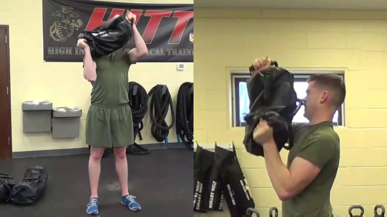 Brute Force Sandbags Workout Around The World Exercise