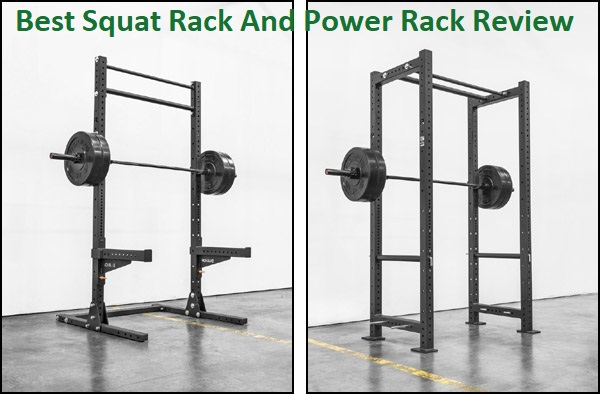 Pair of Adjustable Squat Stands Solid Steel Barbell Dumbbell Power Rack Home Gym