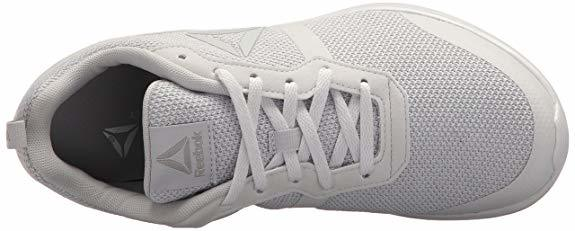Reebok Women's Foster Flyer Track Shoe,Porcelain/Steel,8 M US Review